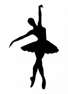 Ballerine//DANSEUSE silhouettes//die cuts pour carte pot bougie Craft