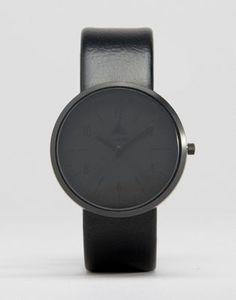 asos montre monochrome noir