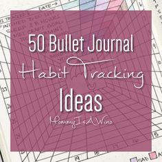 If you don't have a habit tracker in a bullet journal, notebook, journal, or a spreadsheet you are missing out on an extremely useful tool. Habit Trackers help us to stay on track to meet goals.Read More →