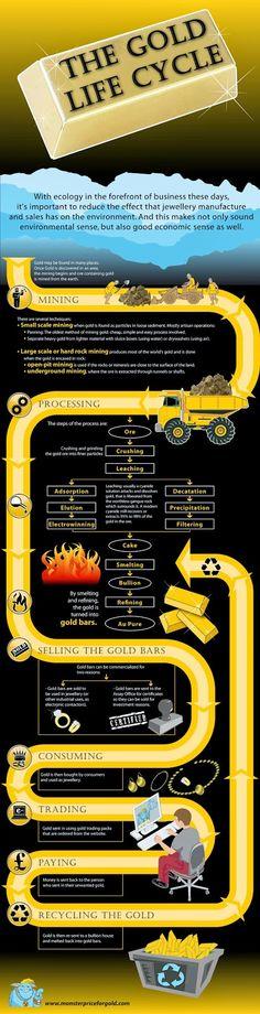 Nuestra Pasión por el Oro: The Gold Life Cycle (Ciclo de Vida del Oro)