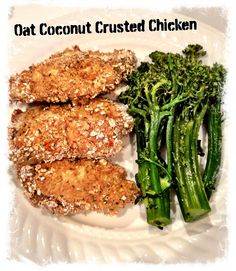 Michelle's Oat Coconut Crusted Chicken