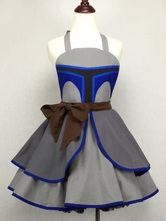 Star Wars Inspired Handmade Jango Fett Apron Full por ActionPink