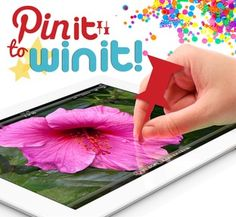 Win a NEW iPad & more on the dealspl.us Pinterest Page! Pin it to WIN it!