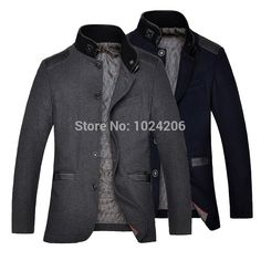 Find More Wool & Blends Information about FREE SHIPPING NEW HOT men Windbreaker jackets Fashion stylish Fall black gray wool jacket winter men's casual zip overcoat,High Quality jacket shrug,China jacket ktm Suppliers, Cheap jacket pet from XJD Store on Aliexpress.com