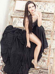Sana Khan Poses for FHM