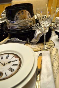 Silvester Tisch eindecken: DIY Ideen für Dekoration