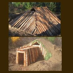 ... Survival shelter on Pinterest | Survival Shelter, Shelters and Forts