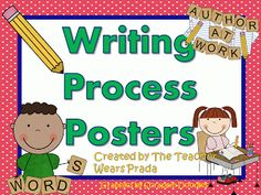 Writing Process Posters Freebie Update