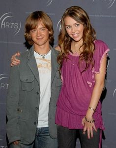 Jason Earles & Miley Cyrus