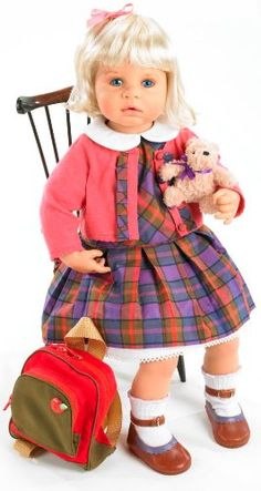 Zapf Creation Fondest Memories Marie School Days Doll