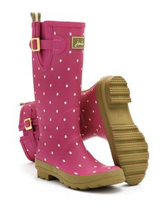 Pinkspot Welly print Womens Welly Print | Joules UK