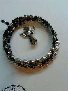 Personalised Bracelet with Angel