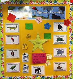 Infants learning Kirk Sandall Infant School - Characteristics of Effective Learning Morning Activities, Preschool Activities, Characteristics Of Learning Display, Child Development Chart, Early Years Teaching, Reception Class, Dear Zoo, Foundation Stage, Visible Learning