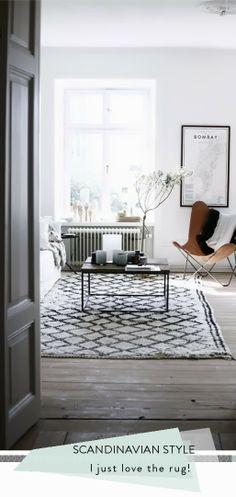 Scandinavische interieur inspiratie | Kleed envy