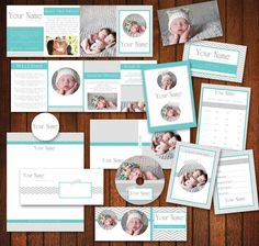 INSTANT DOWNLOAD Modern Business Marketing Set Photography Marketing Set Business Branding Templates, business forms photography Chevron. $30.00, via Etsy.