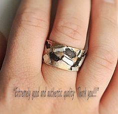 Mens Large Double Infinity Ring 9.5mm Wide in Sterling Silver