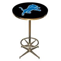 Detroit Lions Pub Table: Show your team spirit with the NFL Official Licensed Pub Table. The Team Pub… #Sport #Football #Rugby #IceHockey