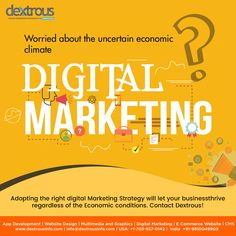 Don't let the tough times dampen your entrepreneurial spirit. Adopting the right digital marketing is key to a business that thrives in every situation. With Dextrous, you can be sure that experts are handling your digital marketing strategy. Contact us today. Seo Marketing, Digital Marketing Strategy, Digital Marketing Services, Online Marketing, Web Development Agency, Design Development, Web Design Agency, Tough Times, Spirit