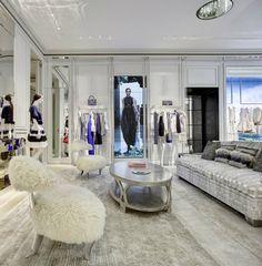 Dior Store Interior Design. Get more inspirations on: http://www.bocadolobo.com/en/inspiration-and-ideas/