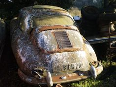 The car's dome-shaped body looked sickly under Iko's light, but with the antique style of the vehicle, it bordered on charming.