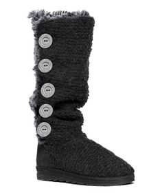 Another great find on #zulily! Black Malena Boot #zulilyfinds