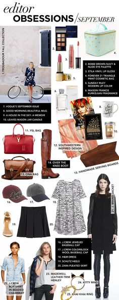Our editors share their September obsessions.
