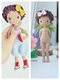 Crochet Amigurumi Free Patterns, Crochet Bee, Crochet Toys, Tutorial Amigurumi, Crochet Doll Tutorial, Beginner Crochet Projects, Crochet Bookmarks, Amigurumi Doll, Stuffed Toys Patterns