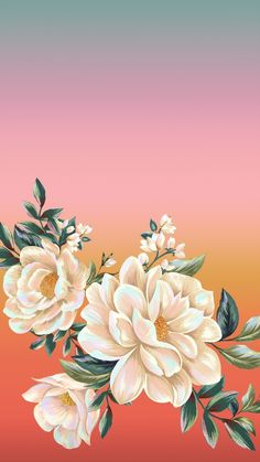 Farm Wallpaper, Smile Wallpaper, Pastel Wallpaper, Flower Wallpaper, Cool Wallpaper, Wallpaper Backgrounds, Floral Backgrounds, Aesthetic Iphone Wallpaper, Aesthetic Wallpapers
