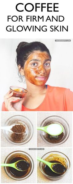 A good skin care routine is essential for firm and glowing skin, and adding this wonderful and effective coffee mask to your routine can be a bonus! Below is how you could make a coffee face mask for firm and glowing skin along with its benefits: Homemade Face Masks, Homemade Skin Care, Organic Skin Care, Natural Skin Care, Natural Face, Organic Makeup, Natural Beauty, Coffee Face Mask, Beauty Secrets