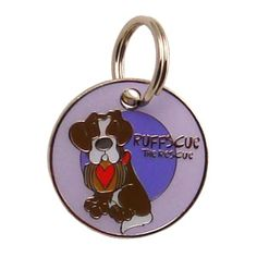Dogoscope Tag-Ruffscue the Rescue Jan. 1 to Dec. 31    Personality characteristics :: survivor, loving, brave, loyal, inquisitive & optimistic.    Woof's your sign?    DogOscopes collar charms & tags feature colorful, canine representations of the twelve signs of the zodiac. But what about all those rescue pups out there that are unsure of birth dates? Not to worry, they now have a sign all there own. Meet the 13th sign of the DogOscopes zodiac, Ruffscue the Rescue, dedicated to bra...