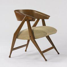 Gio Ponti, Armchair for Cassina, c1953.
