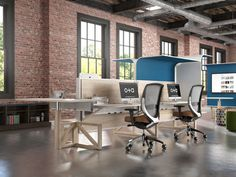 2015 Interior Design's Best of Year Award winner!  Furniture: Contract/Systems: Canopy-Kimball Office