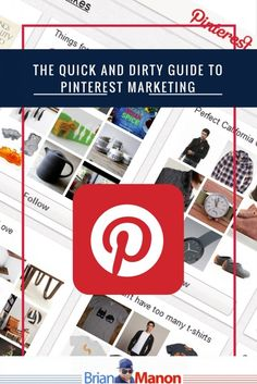 Everyone knows of Pinterest.  You use it late at night to find cool recipes, cleaning hacks, inspiring quotes, and more.  It's great when you have some free time to browse the Internet but, did you know that Pinterest is an awesome, FREE untapped source of marketing for your business?  Pinterest is a great place …