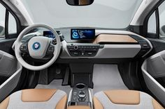2014 BMW i3 Interior  #Rvinyl & #BMW: A match made in heaven. Spend your time doing something useful this Thanksgiving like drooling over these pics.