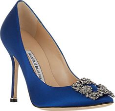 Manolo Blahnik Hangisi Pumps - The Bridal Collection - Barneys.com