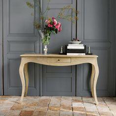 Table console en manguier L ... - Colette