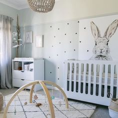 Gender neutral nursery colors - Little Peanut Mag Fall 2015 Baby Bedroom, Baby Boy Rooms, Baby Room Decor, Nursery Room, Kids Bedroom, Budget Bedroom, Bunny Nursery, Kid Rooms, Bedroom Ideas