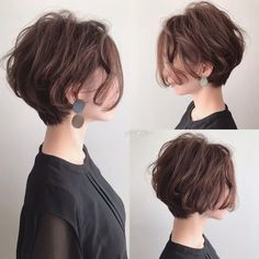 Über 100 beliebte Kurzhaarschnitte 2018 – 2019 – Ich liebe dieses Haar – Häkeln Over 100 popular short haircuts 2018 – 2019 – I love this hair – Crochet …- Over 100 popular short haircuts 2018 – 2019 – I love this hair – CrochetingNeedles … – Popular Short Haircuts, Short Hairstyles For Thick Hair, Short Hair Cuts, Japanese Short Hairstyle, Short Thick Wavy Hair, Japanese Hairstyles, Short Girl Haircuts, Hairstyle Short Hair, Short Fine Hair