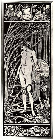Perseus - Aubrey Beardsley