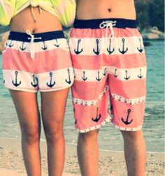 Couple beach clothes :) cute