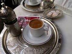 Turkish coffee from my objektive