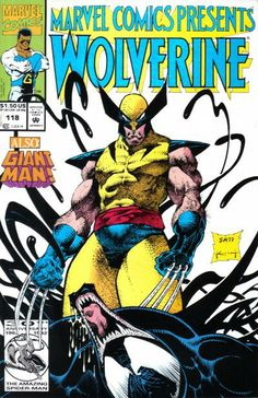 Marvel Comics Presents # 118 by Sam Kieth