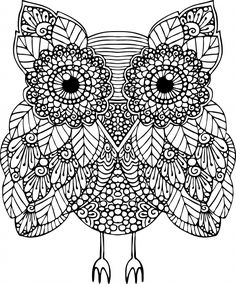 Advanced Animal Coloring Page 17 - KidsPressMagazine.com