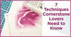 7 Techniques Cornerstone Lovers Need To Know