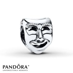 Pandora Charm Stage Masks Sterling Silver
