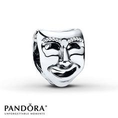 Pandora Charm Stage Masks Sterling Silver
