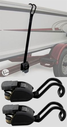 BoatBuckle Retractable, Ratcheting Gunwale Tie-Down Straps - Long - 833 lbs - Qty 2 Boat Duck Hunting Boat, Duck Boat, Aluminum Fishing Boats, Aluminum Boat, Jon Boat Trailer, Trailer Plans, Trailer Kits, Kayak Trailer, Trailer Build