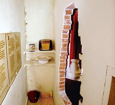 """The """"Hiding Place"""" in the Corrie Ten Boom home, now a museum. Haarlem, Holland! Inspiring story and tour!"""