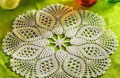 Ivelise Hand Made: Centrinho En Crochet