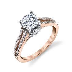 Kassab Jewelers: MARS Jewelry MARS 25851 Diamond Engagement Ring 0.33 ct tw